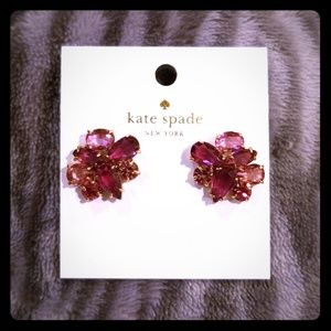 Kate Spade Berry Cluster Earrings